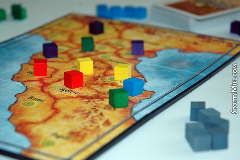 Condottiere (Кондотьер) настольная игра
