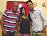 Programa Rep�rter Gospel com Fabio Senna, com a levita Alyne Ribeiro