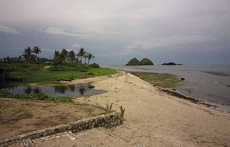 beach of Kapuluan Vista Resort