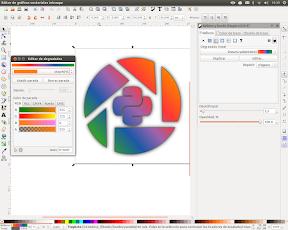 Edición de degradados en Inkscape