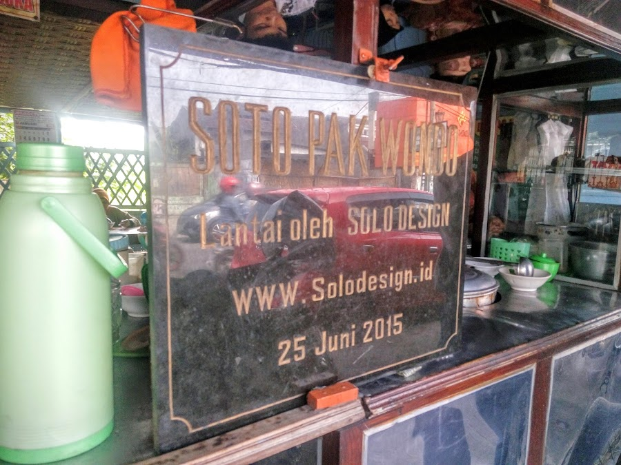Soto Ayam Kampung Pak Wondo