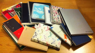 My PhD in notebooks