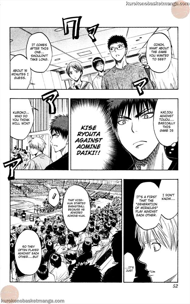 Kuroko no Basket Manga Chapter 63 - Image 6