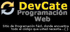 DevCate Programación Web