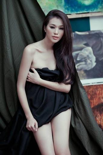Hoa hau Ao dai hoa than nguoi mau nude IMG2841, girl xinh, gai xinh, gai xinh, anh girl xinh,  Ngắm Khánh My khoe chân dài dáng chuẩn