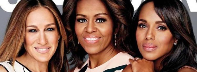 Sarah Jessica Parker, Michelle Obama y Kerry Washingotn