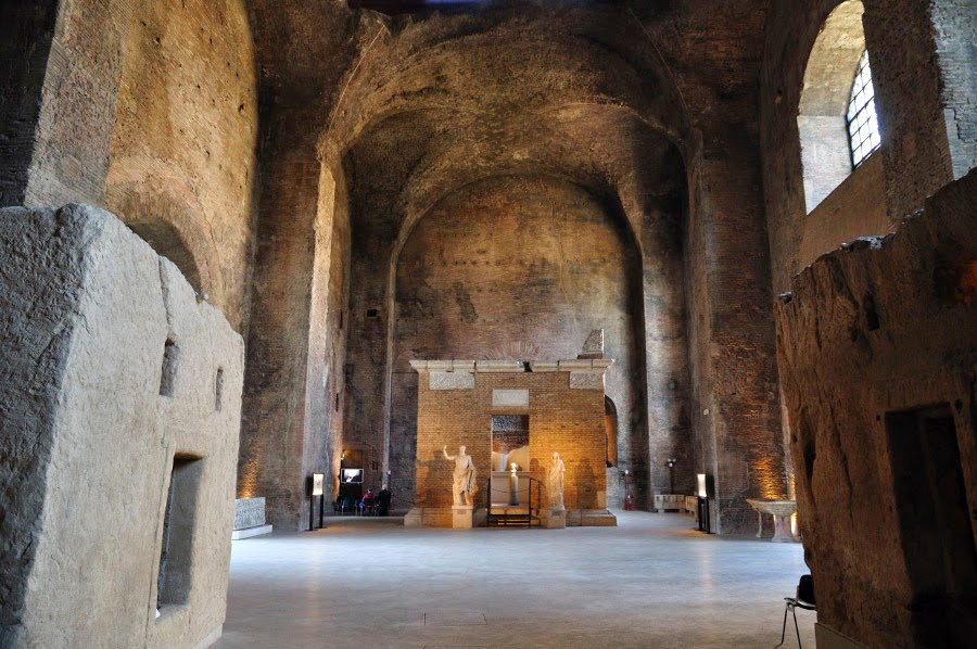 More Stuff: Diocletian's Baths reopen to public after restoration