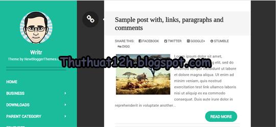 10 Template Blogspot đẹp chuẩn SEO 2015