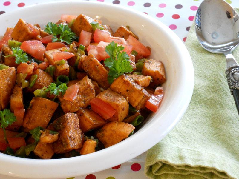 Roasted Sweet Potato Salsa - Lake Lure Cottage KitchenLake Lure ...