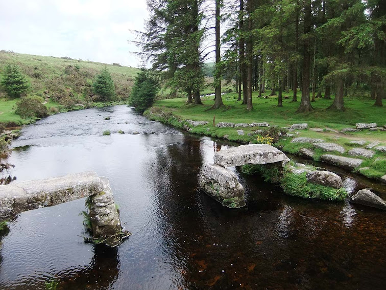 Bellever bridge Dartmoor