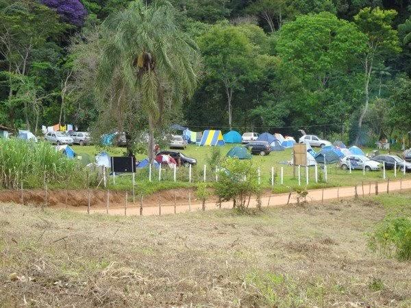 Camping Acampamento Acampar Conceição do Mato Dentro Cachoeira do Tabuleiro