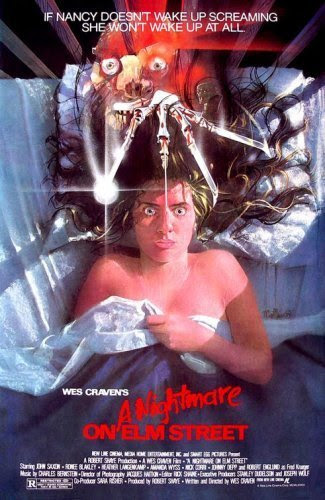 Poster Of A Nightmare on Elm Street (1984) Full Movie Hindi Dubbed Free Download Watch Online At Alldownloads4u.Com