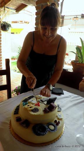 Torta abrasivi e mamma