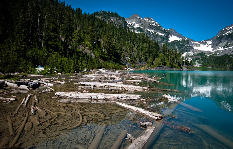 Blanca Lake, Henry M. Jackson Wilderness Area..