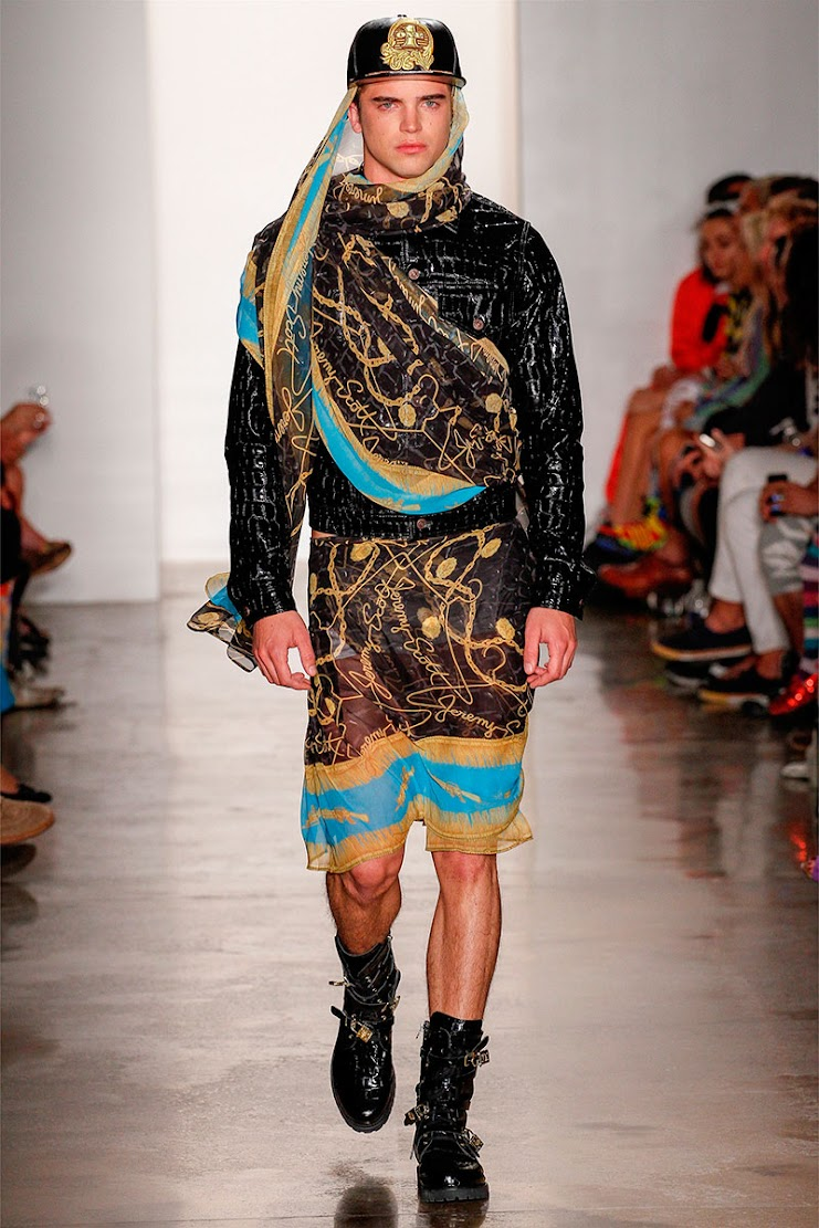 Prints Are on the Way with Jeremy Scott SS13
