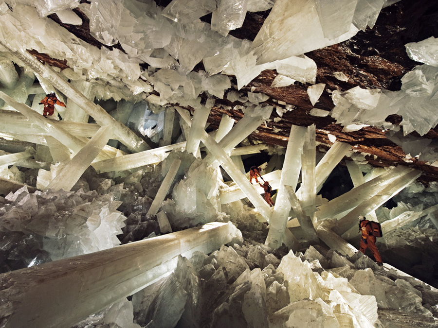 The Giant Crystal Caves of Naica