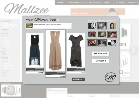 Shopping Going Social: Mallzee.com | www.mallzee.com Sneak Peek
