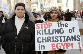 Terrorists attack Egyptian church