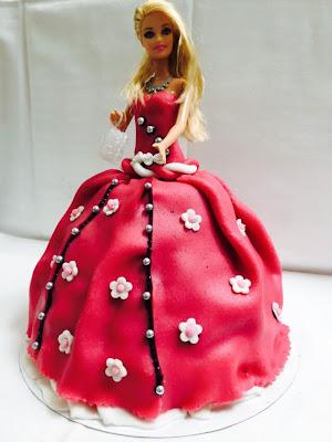 Torte, Barbie Prinzessin