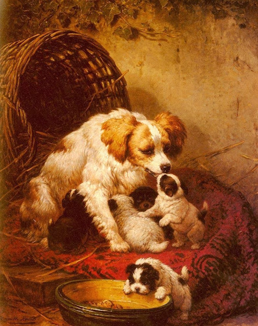 Henriette Ronner-Knip - The Happy Family