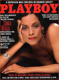 Sônia Braga - Playboy 1986