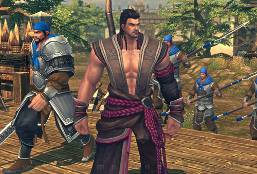 """Đôi nét về """"siêu webgame"""" Epic of the Three Kingdoms 7"""