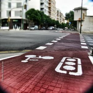 Cruce carretera Valldemosa y calle San Vicente de Paul