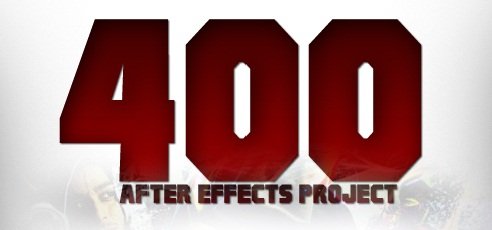 400 Projects for After Effect