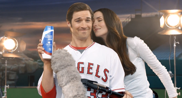 C.J. Wilson & Josh Hamilton Star In New Commercial for Head & Shoulders With Old Spice