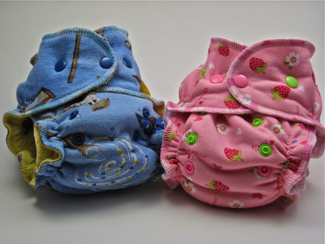OS Hybrids/OS Organic Fitted Diapers