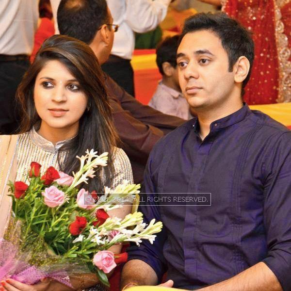 Ambika and Shashank during Disha-Anuj Puri's wedding, held in Bhopal
