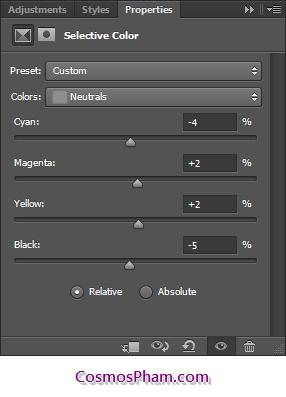 Chỉnh sửa màu da - Thủ thuật Photoshop