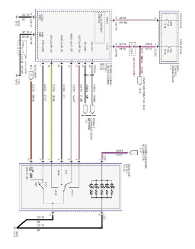 1993 Ford F150 Headlight Switch Wiring Diagram : Ford headlight switch wiring diagram