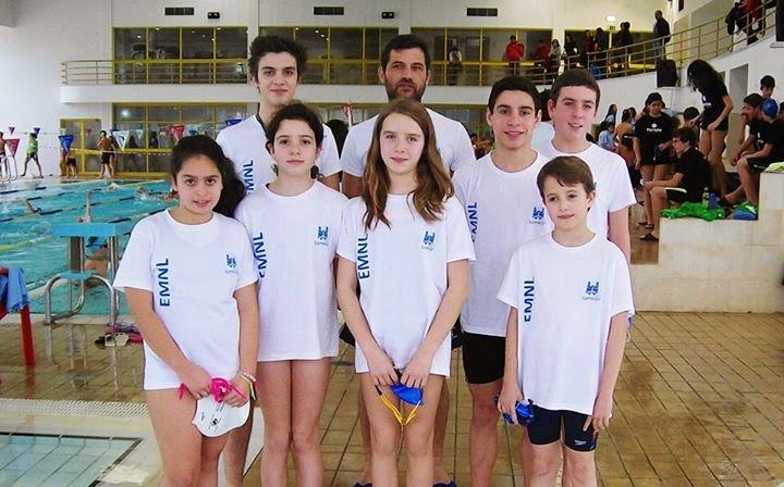 Nadadores de Lamego sobem quatro vezes ao lugar mais alto do pódio