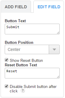 How to Add a Reset Button