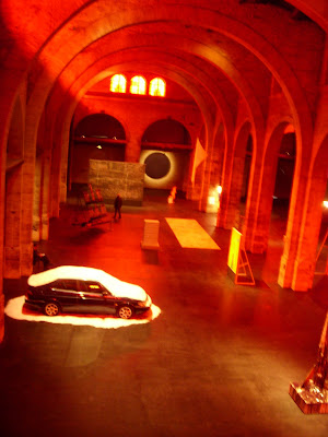 美術館の展示ホール