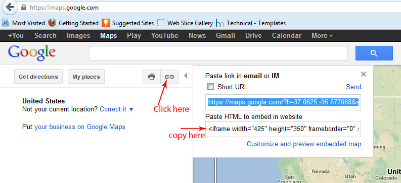 How to add/edit google map into contact form | SmartAddons ...
