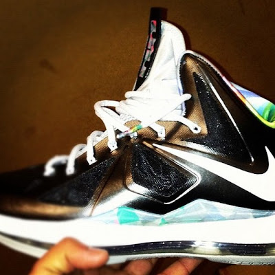 nike lebron 10 gr prism 2 02 Nike LeBron X Prism Drops on LBJs Birthday for $180