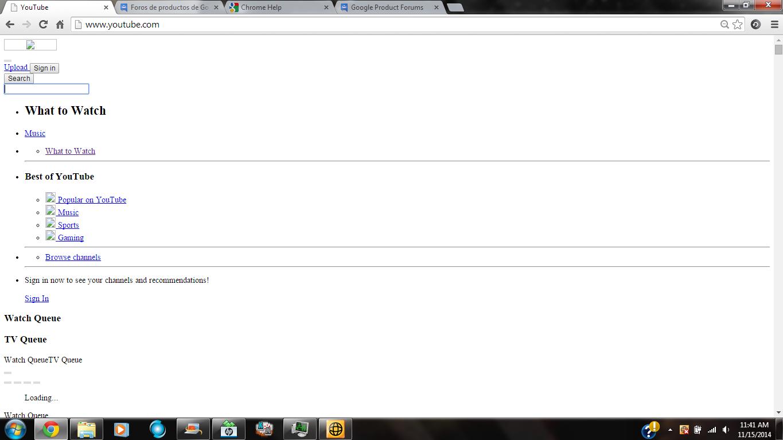 help me with youtube please - Google Chrome Help