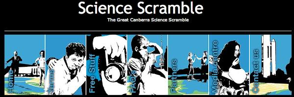 science scramble