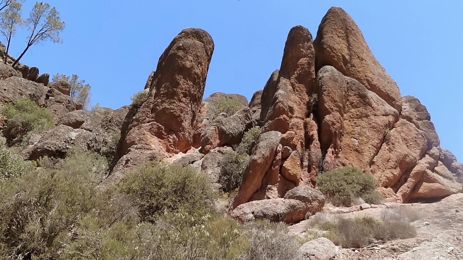 Pinnacles National Park Hike Memory Lane