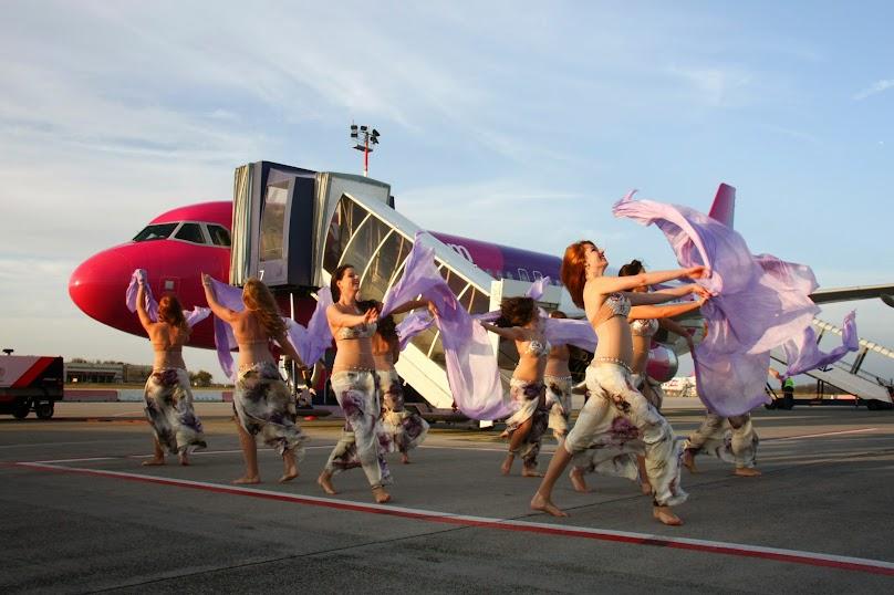 A Budapest Airport hastáncosokkal fogadta az új járatot. Galéria! (Fotók: Budapest Airport) | © AIRportal.hu