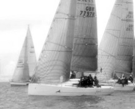 J/97 sailing Warsash Spring Series