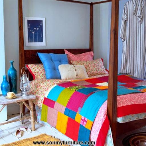 Những mẫu phòng ngủ thoáng mát cho mùa hè_nội thất phòng ngủ-10