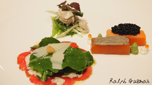 Appetizers at Impressions, Resorts World Manila - RatedRalph.com