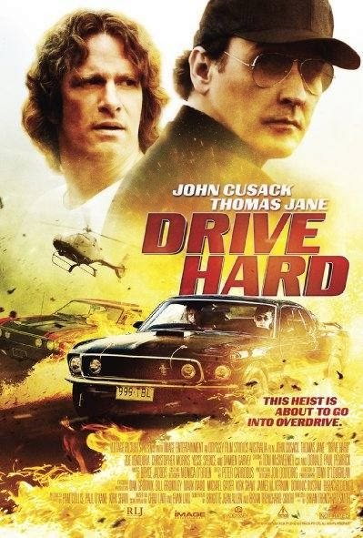 Poster Of Drive Hard (2014) Full Movie Hindi Dubbed Free Download Watch Online At Alldownloads4u.Com
