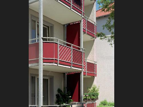 Balcones realizados con paneles Trespa