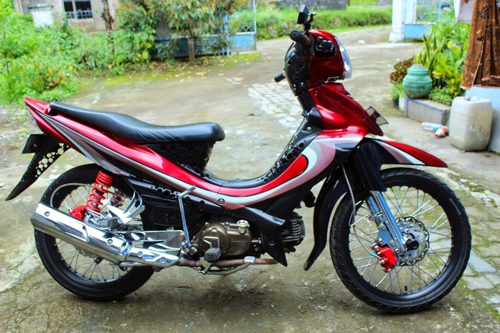 Motor Jupiter z Modifikasi Standar Modifikasi Motor Jupiter z