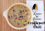 Lean 'N Green Crock Pot Chicken Chili