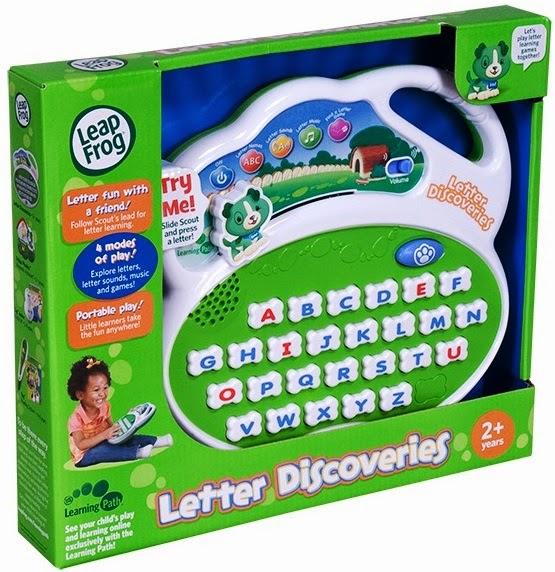 Máy học chữ LeapFrog Letter Discoveries dành cho trẻ trên 2 tuổi